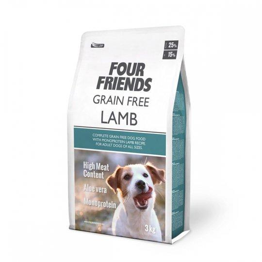 FourFriends Dog Grain Free Lamb (3 kg)