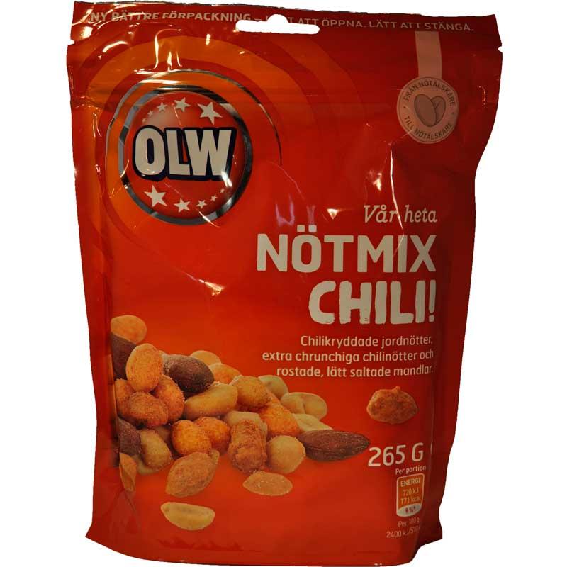 Nötmix Chili - 72% rabatt