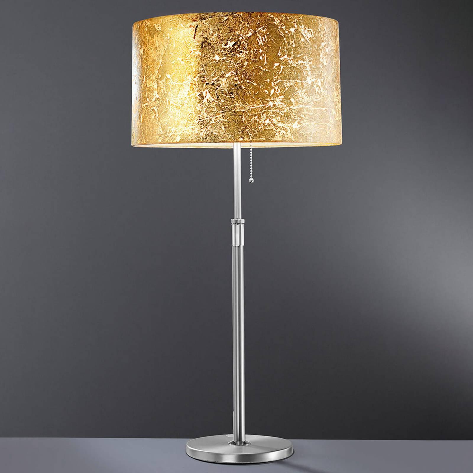 Loop - bordlampe med gullblad