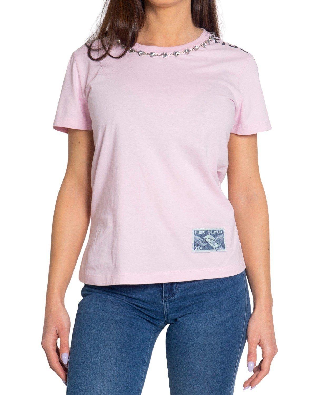 Pinko Women's T-Shirt Various Colours 204095 - pink S