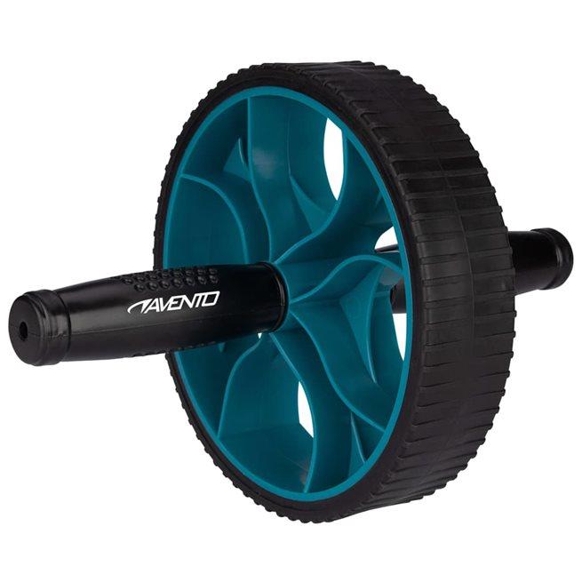 vidaXL Ab-Roller Power svart och blå