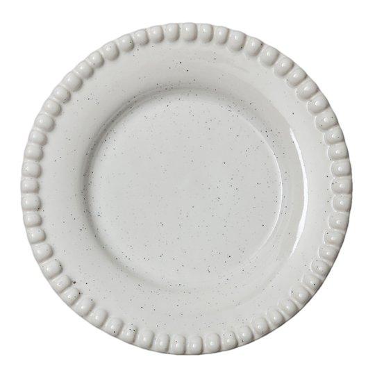 PotteryJo - Daria Tallrik 22 cm Cotton white