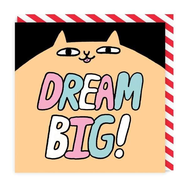 Dream Big Square Greeting Card