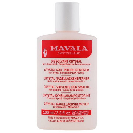 Crystal Nail Polish Remover, 100 ml Mavala Kynsilakanpoistoaineet