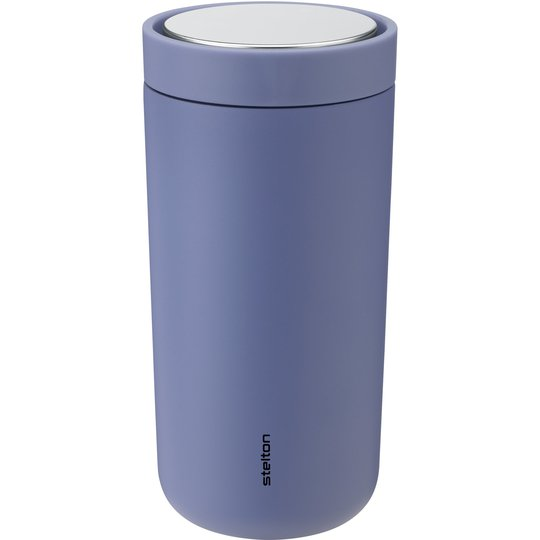 Stelton To Go Click Steel termosmugg 0,4 liter, lupin