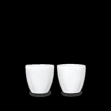 Grand Cru Äggkopp Ø5,5 cm vit 2 st