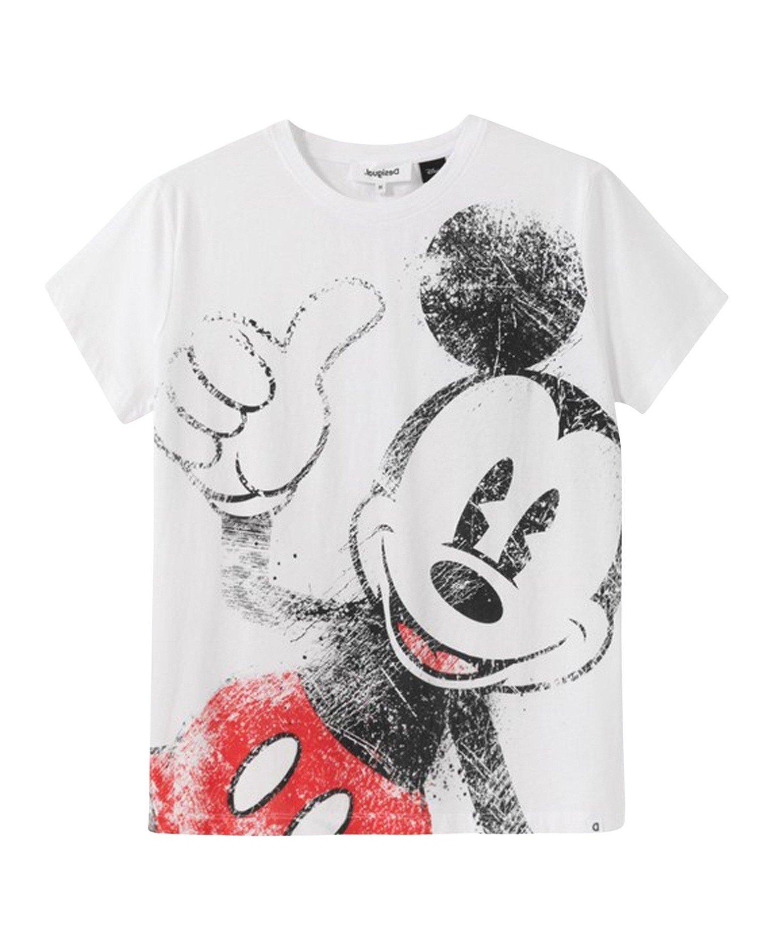 Desigual Women's T-Shirt Various Colours 203450 - white S