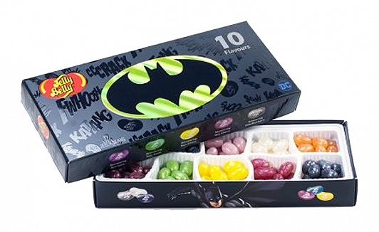 Jelly Belly Batman 10 Flavour Gift Box 125g