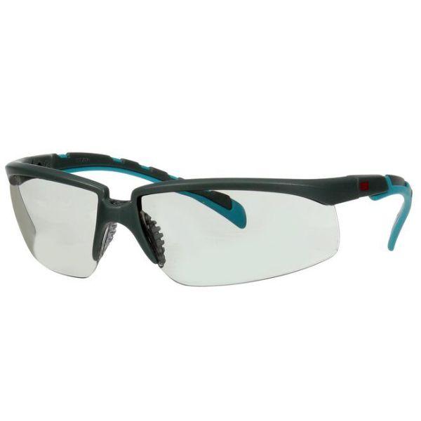 3M Solus 2000 Vernebriller Grå/blå-grønn brillestang, grå linse