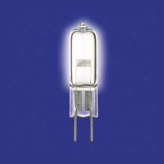 G6,35 250W -pj.halog.lamppu ilman heij.