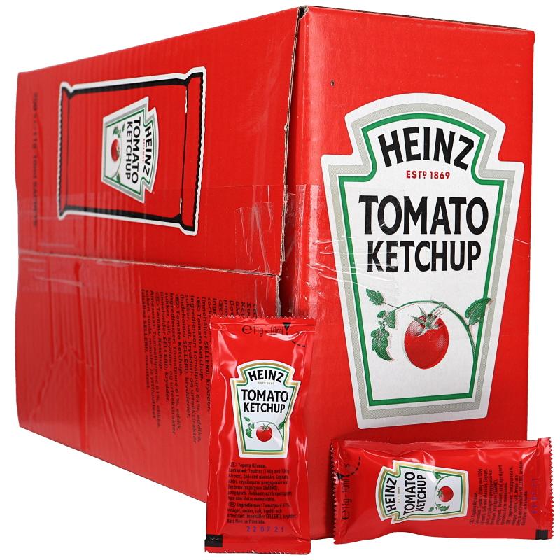 Heinz Ketchuppåsar 200-pack - 63% rabatt
