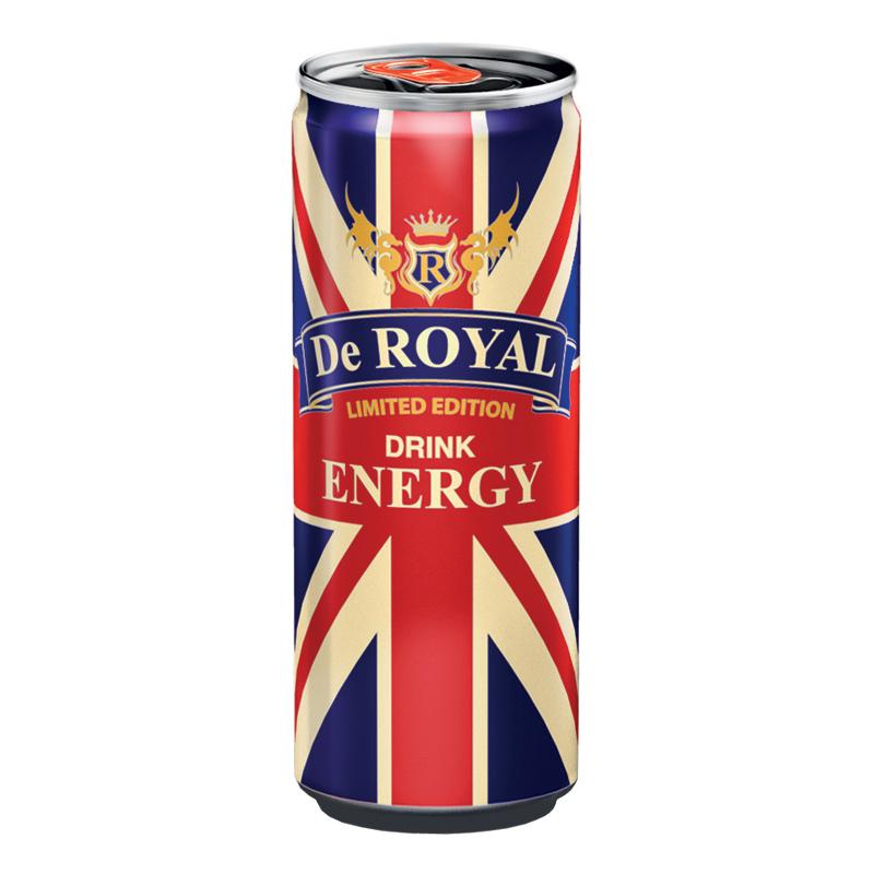 De Royal Energy Drink - 1-pack