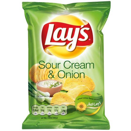 "Chips ""Sourcream & Onion"" 27,5g - 28% rabatt"