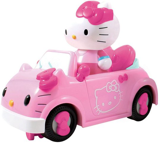 Hello Kitty Radiostyrt Bil Cabriolet