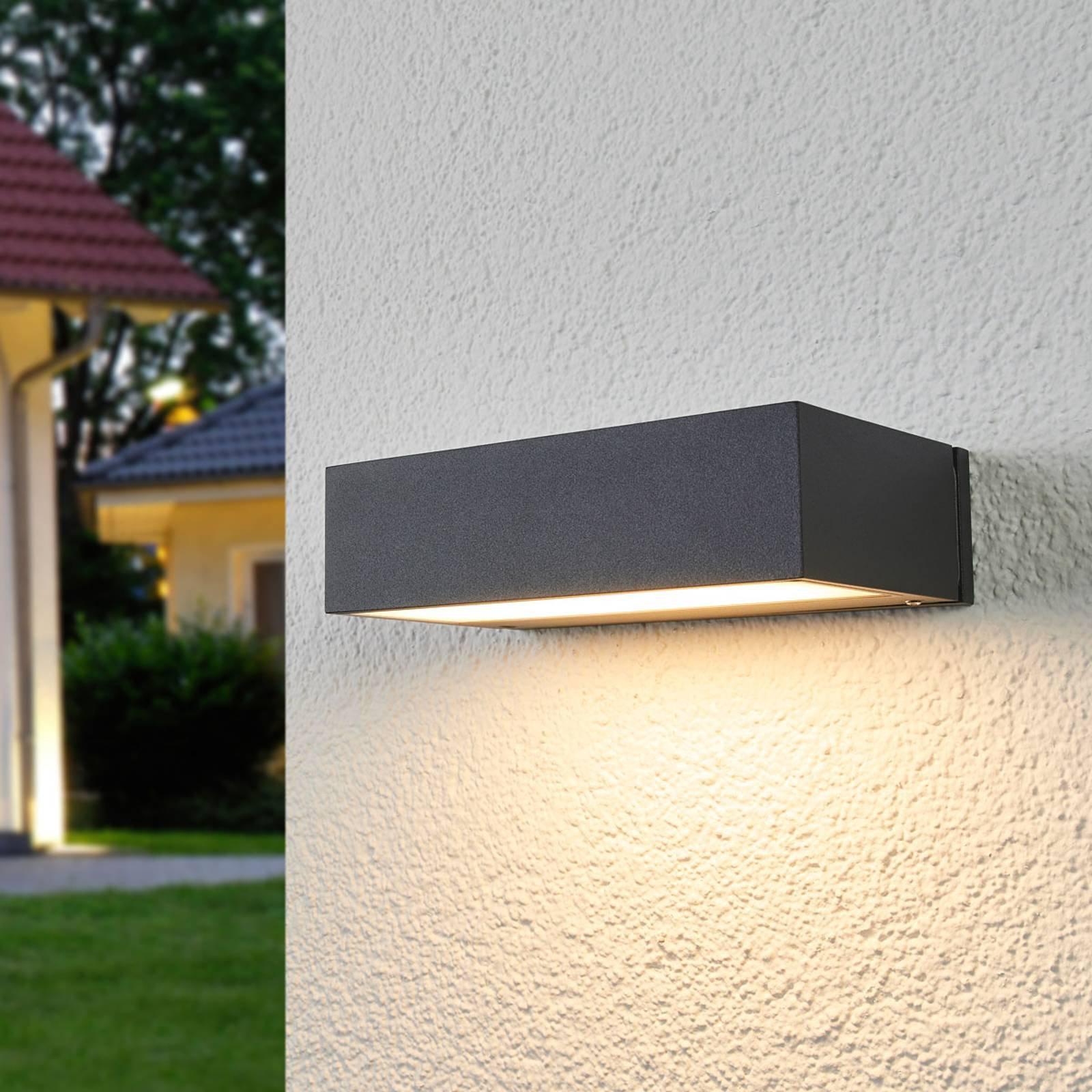 BEGA 33319K3 LED-utevegglampe down grafit, 3000K
