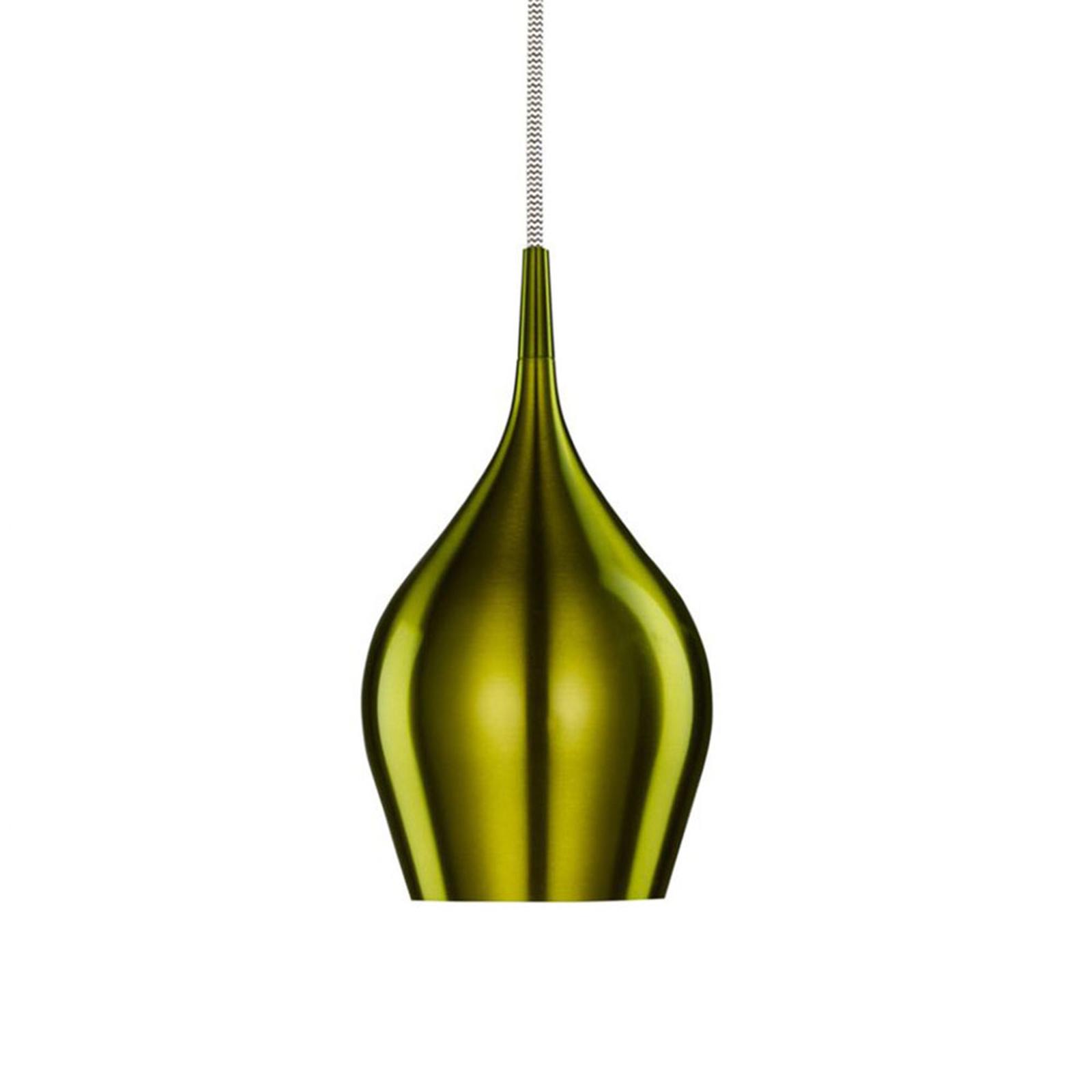 Riippuvalaisin Vibrant Ø 12 cm, vihreä