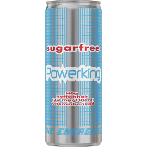 Powerking Sugar Free 25cl