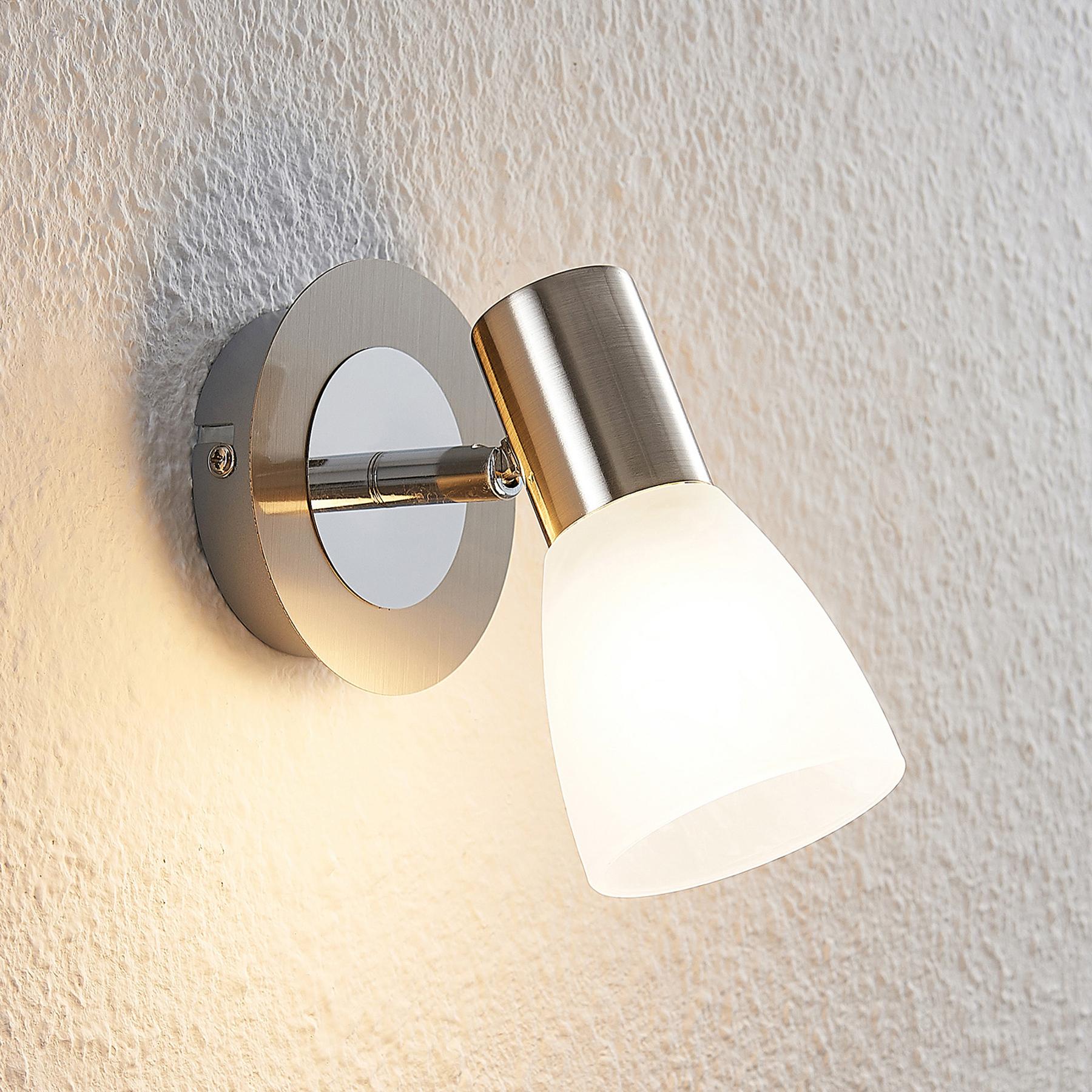 ELC Kamiran -LED-spotti, lasivarjostin, 1-lamp.