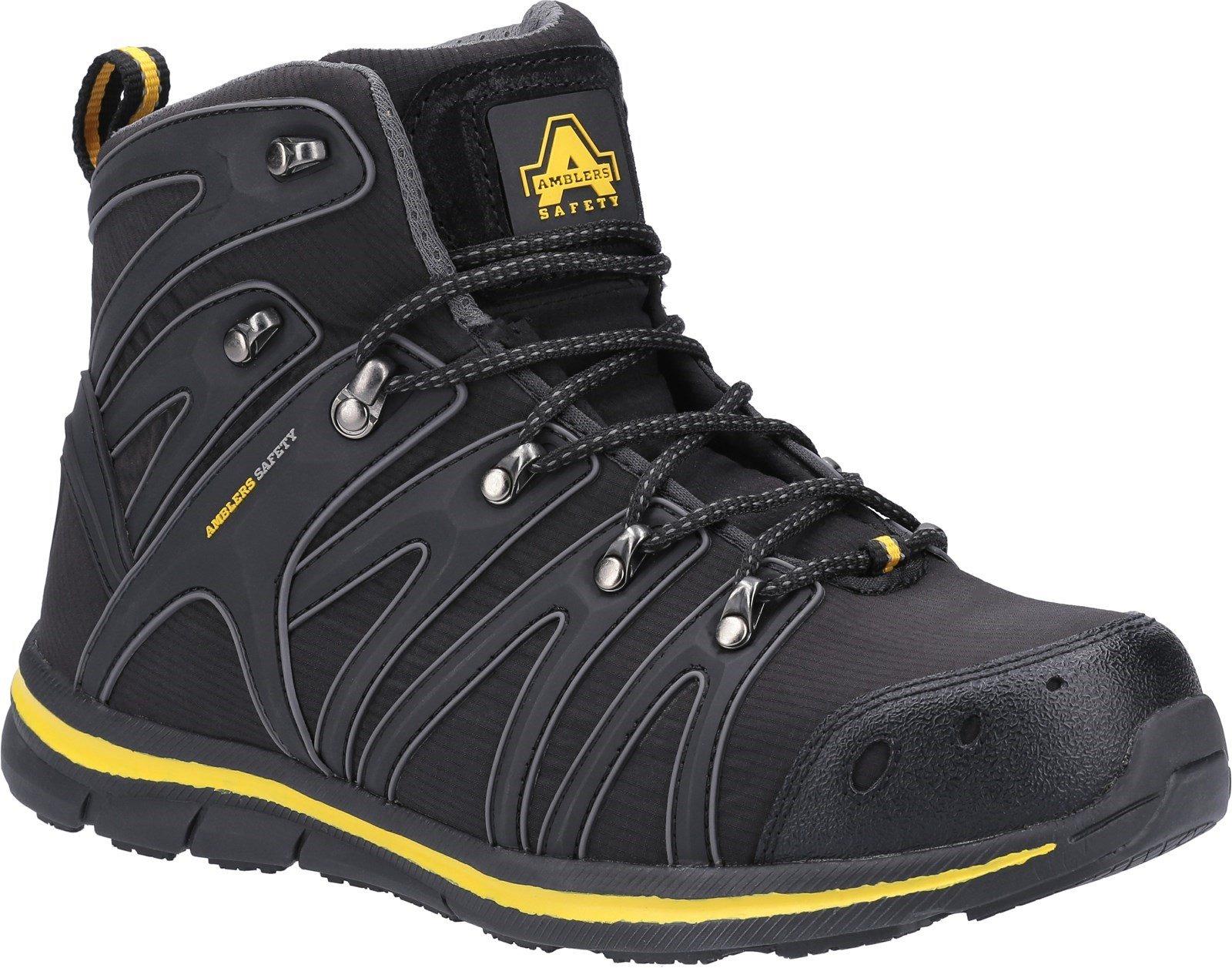 Amblers Safety Unisex Boot Black 31390 - Black 6