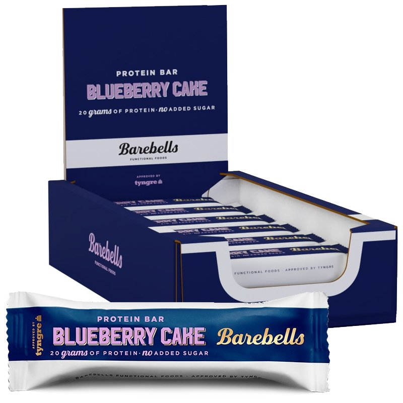 Proteinbars Blueberry Cake 12-pack - 57% rabatt