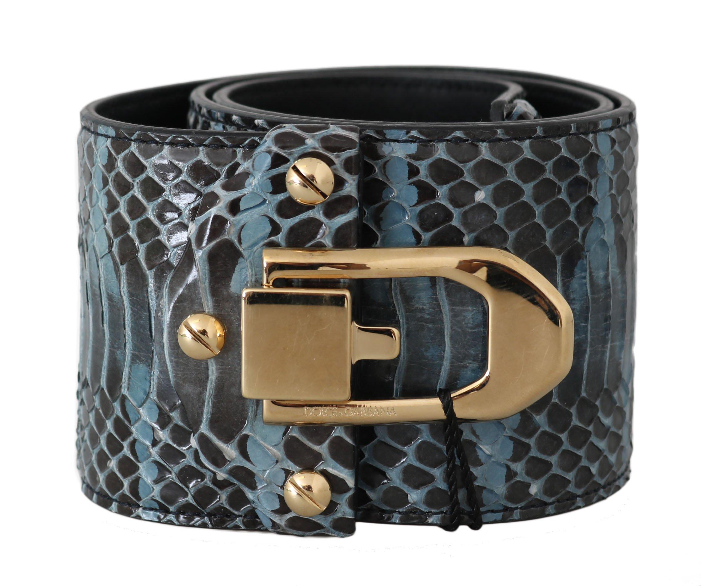Dolce & Gabbana Women's Belt Blue BEL50210 - 80 cm / 32 Inches