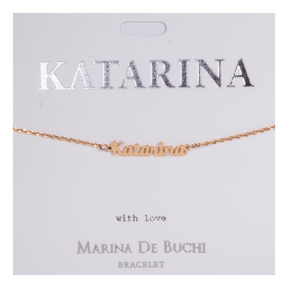 Namnarmband Guld - Katarina