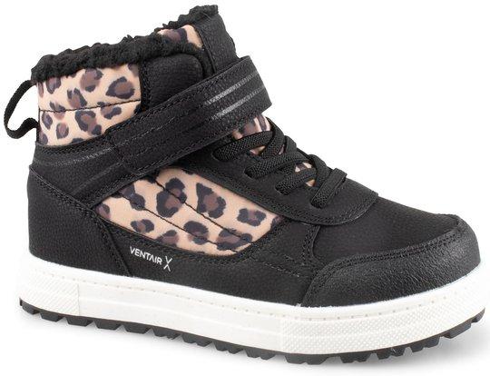 Pax Chilla Sneaker, Svart/Leo, 24