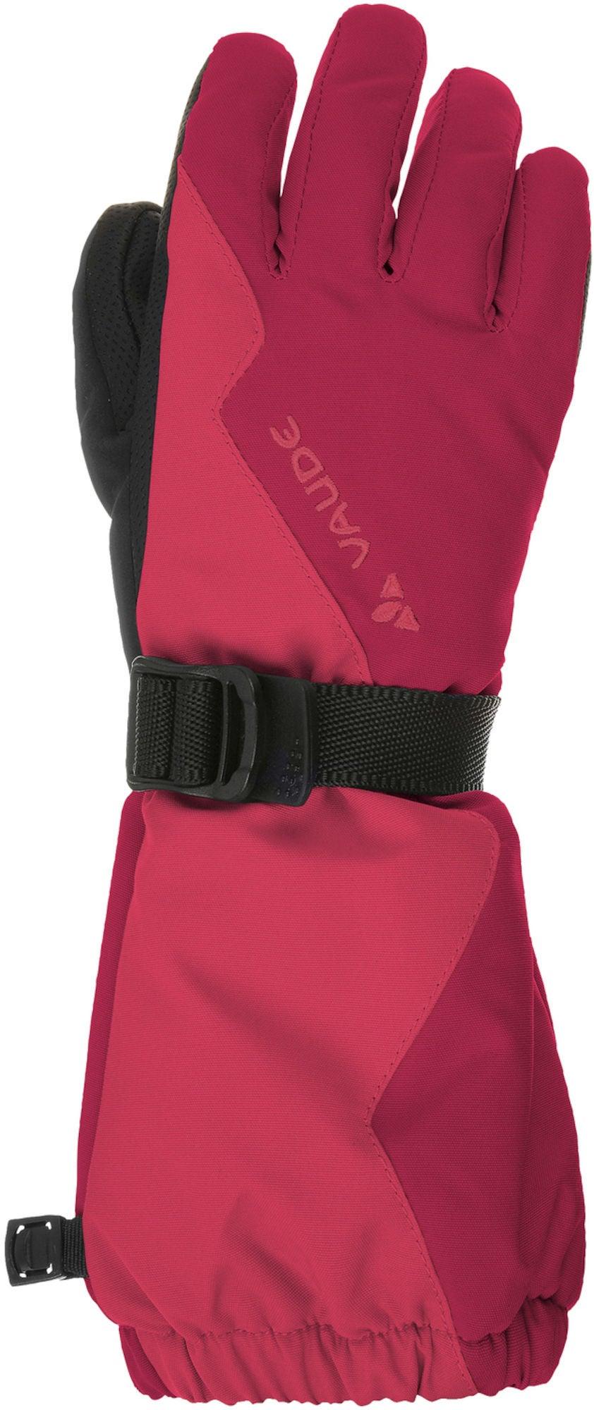 Vaude Kids Snow Cup Gloves Handske, Bright Pink L