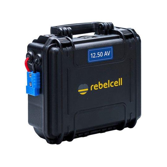 Rebelcell 12V 50 Ah Outdoorbox litiumbatteri