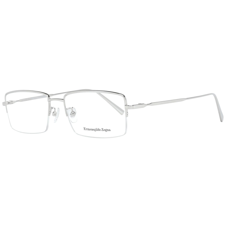 Ermenegildo Zegna Men's Optical Frames Eyewear Silver EZ5066-D 54016