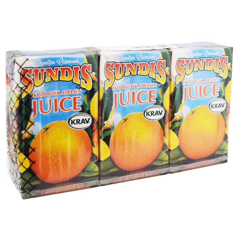 Eko Apelsinjuice 3 x 250ml - 44% rabatt