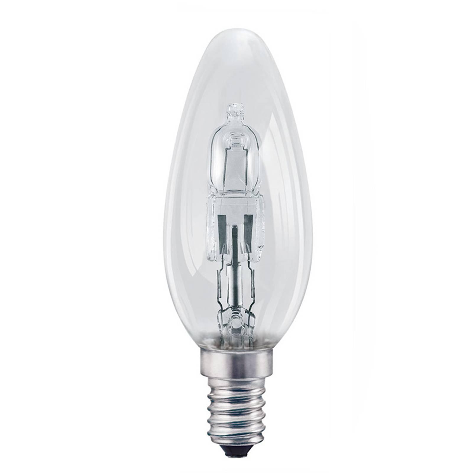 E14 20 W kirkas halogeenilamppu Classic B kynttilä