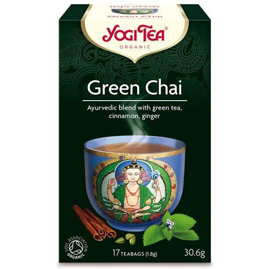 Yogi Tea Green Chai, 17 påsar