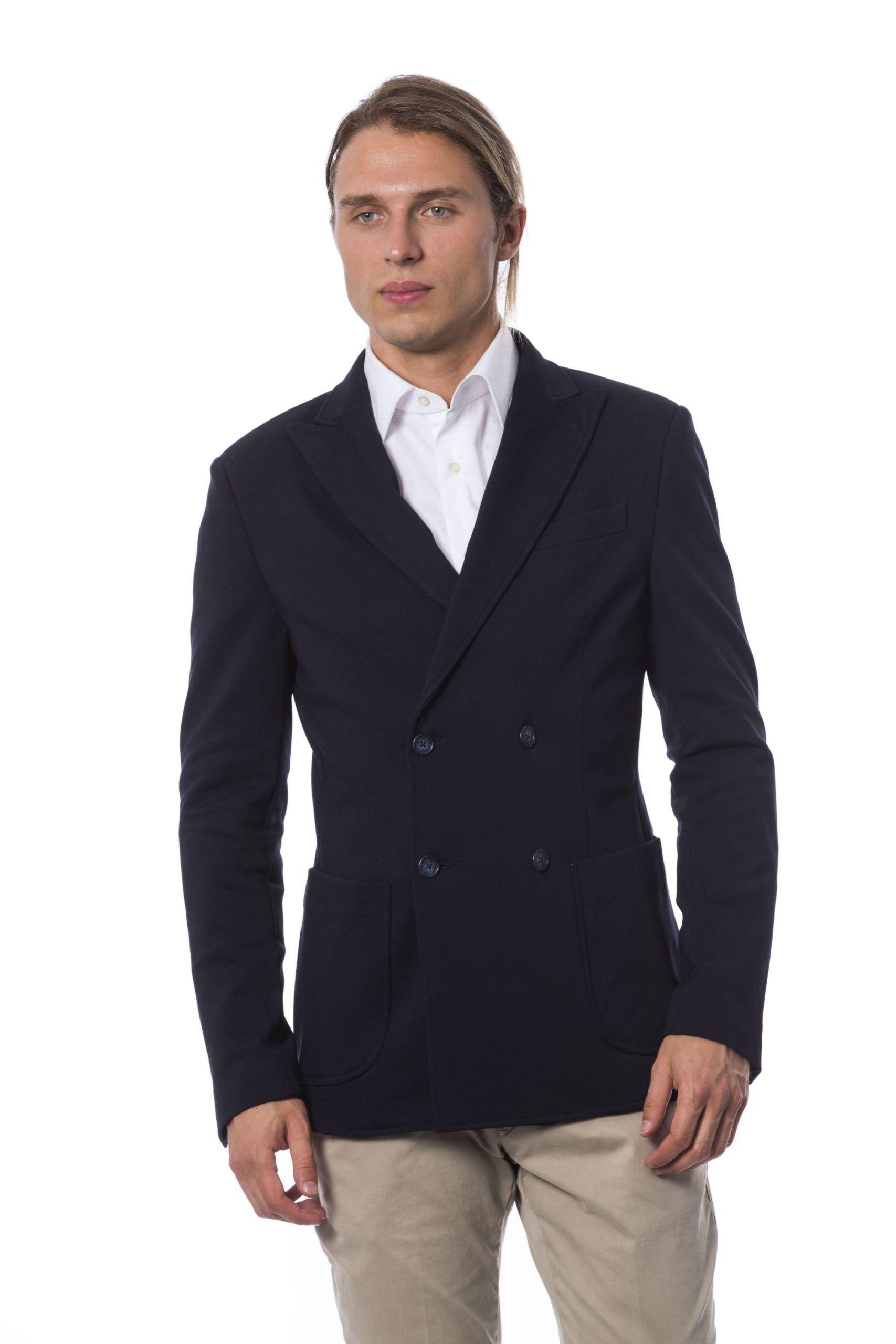 Verri Men's Vblu Blazer Blue VE995218 - IT48 | M