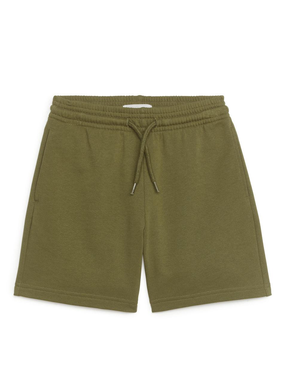 Sweatshirt Shorts - Green