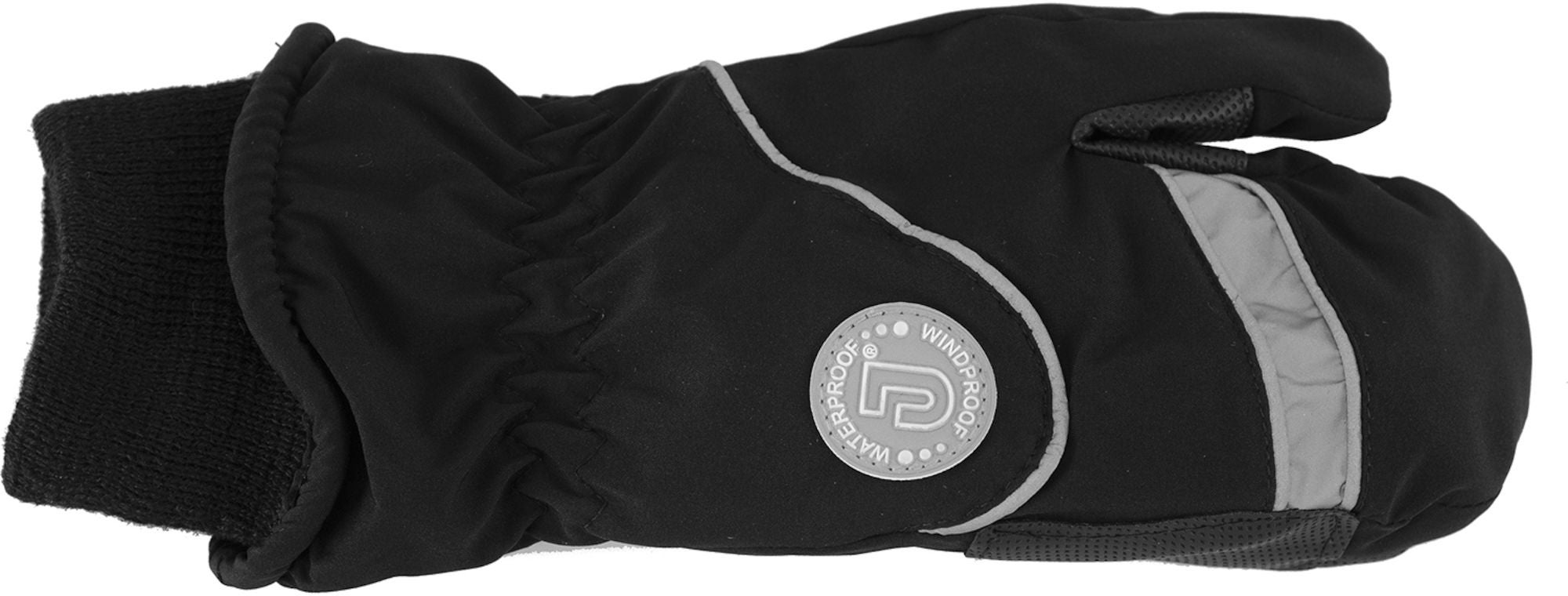 Jacson Thermohandske 3-Finger Reflex, Svart 160