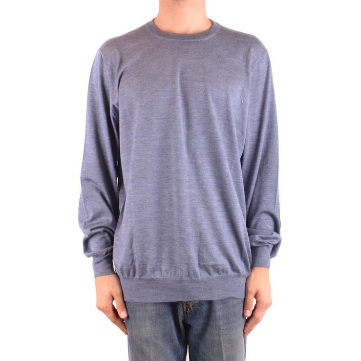 Brunello Cucinelli Men's Sweater Blue 163999 - blue 60