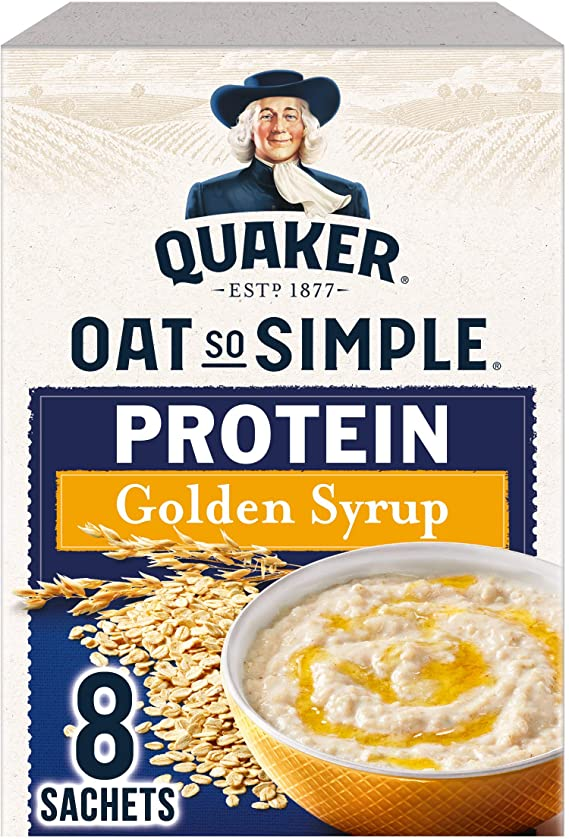 Quaker Oat So Simple Protein Golden Syrup 344g