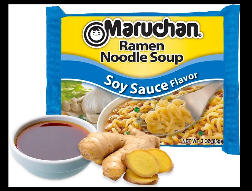 Maruchan Ramen Noodles - Soy Sauce Flavor 85g