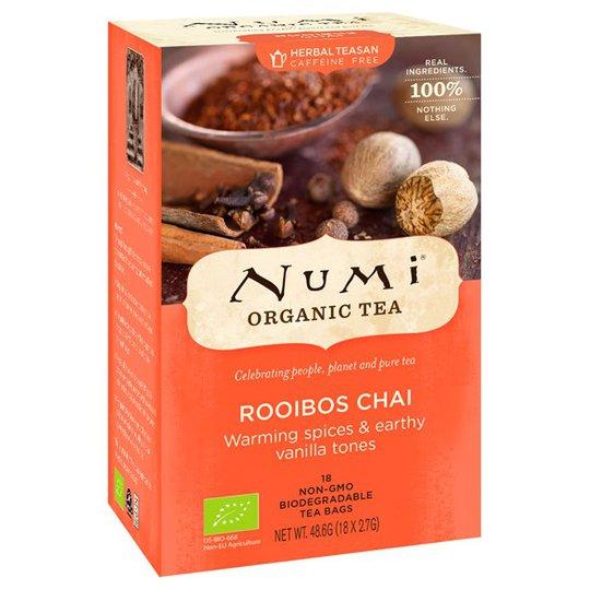 Numi Organic Tea Rooibos Chai, 18 påsar