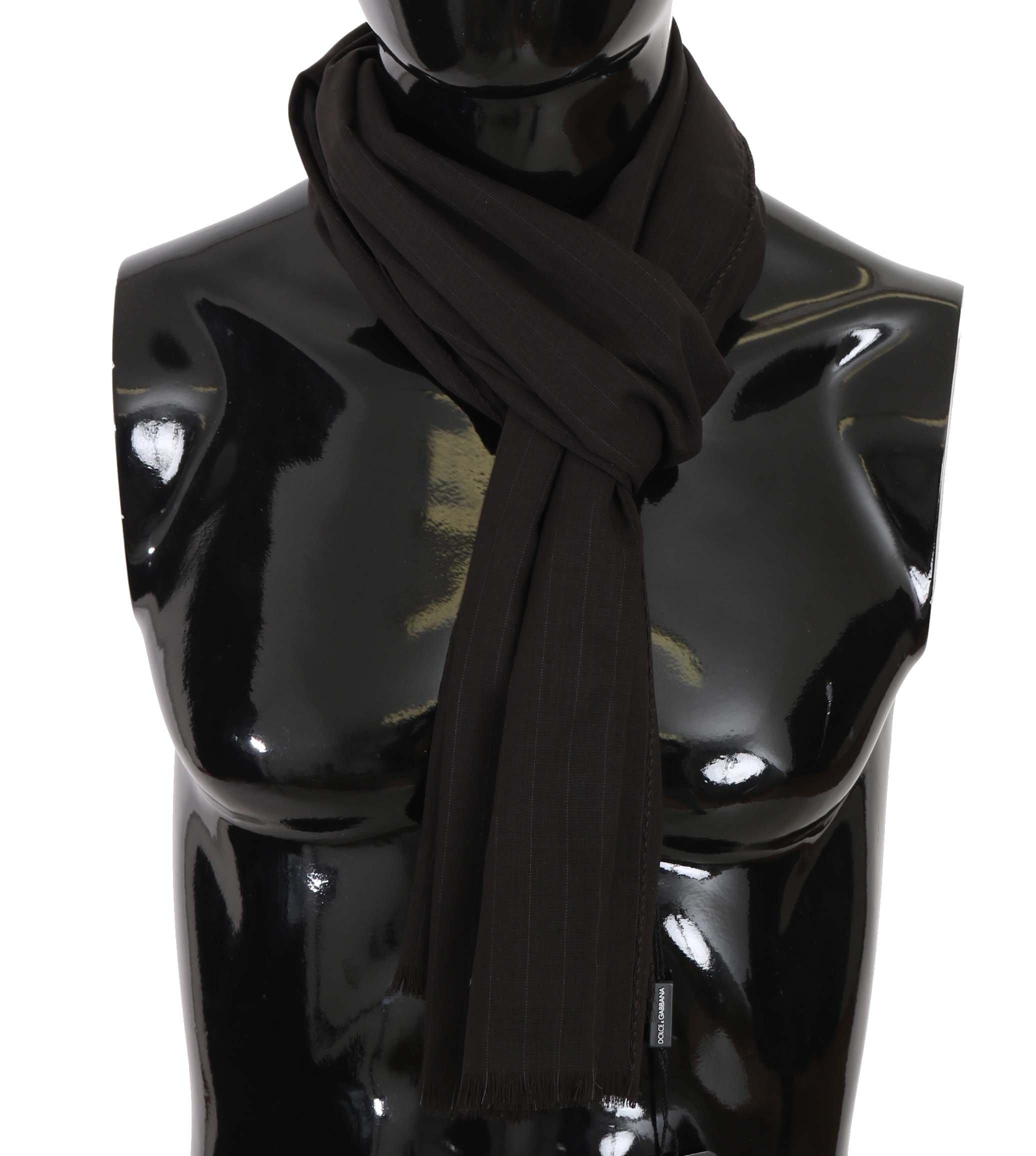 Dolce & Gabbana Men's Scarf Brown MS5181
