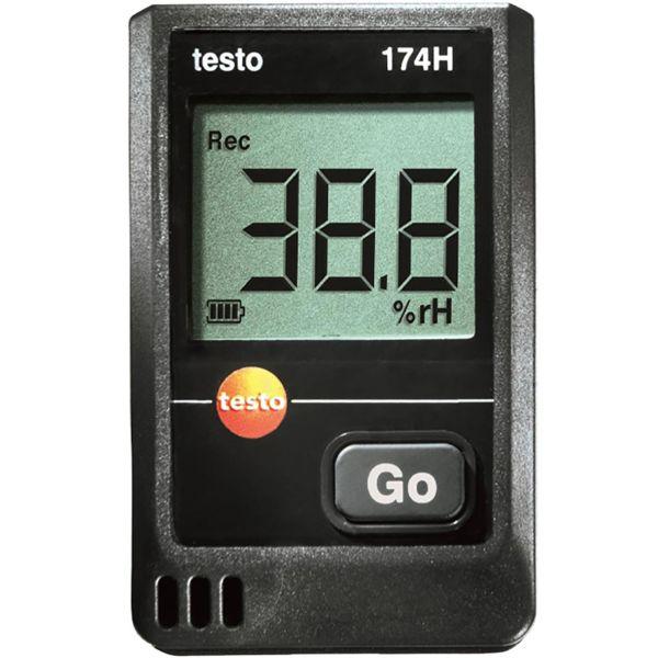Testo 174-H Dataloggeri lämpötila ja kosteus