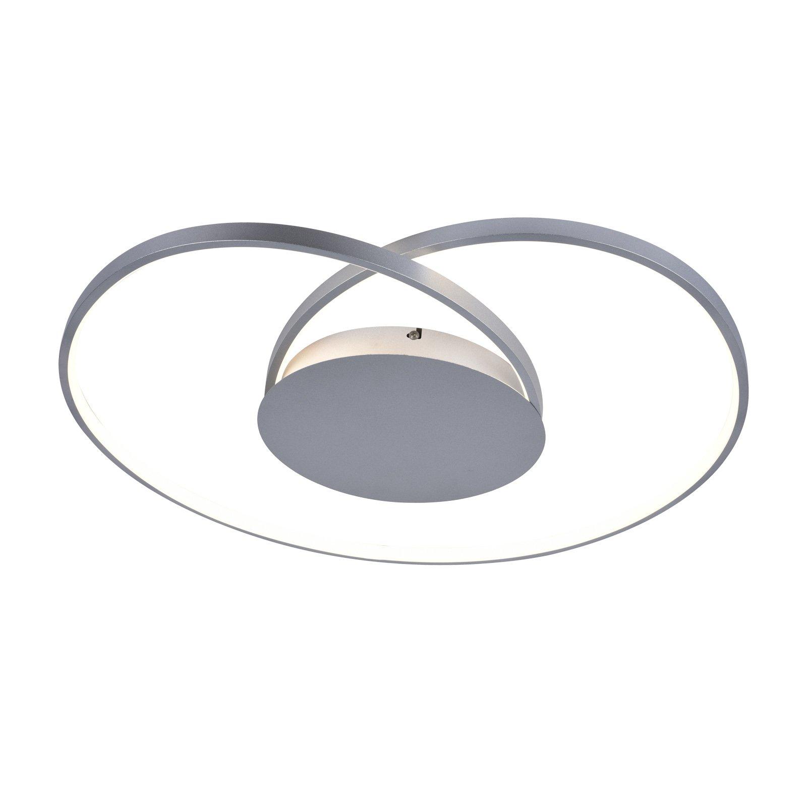 Lucande Enesa LED-taklampe, rund, CCT