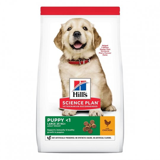 Hill's Science Plan Puppy Large Breed Chicken 14,5 kg