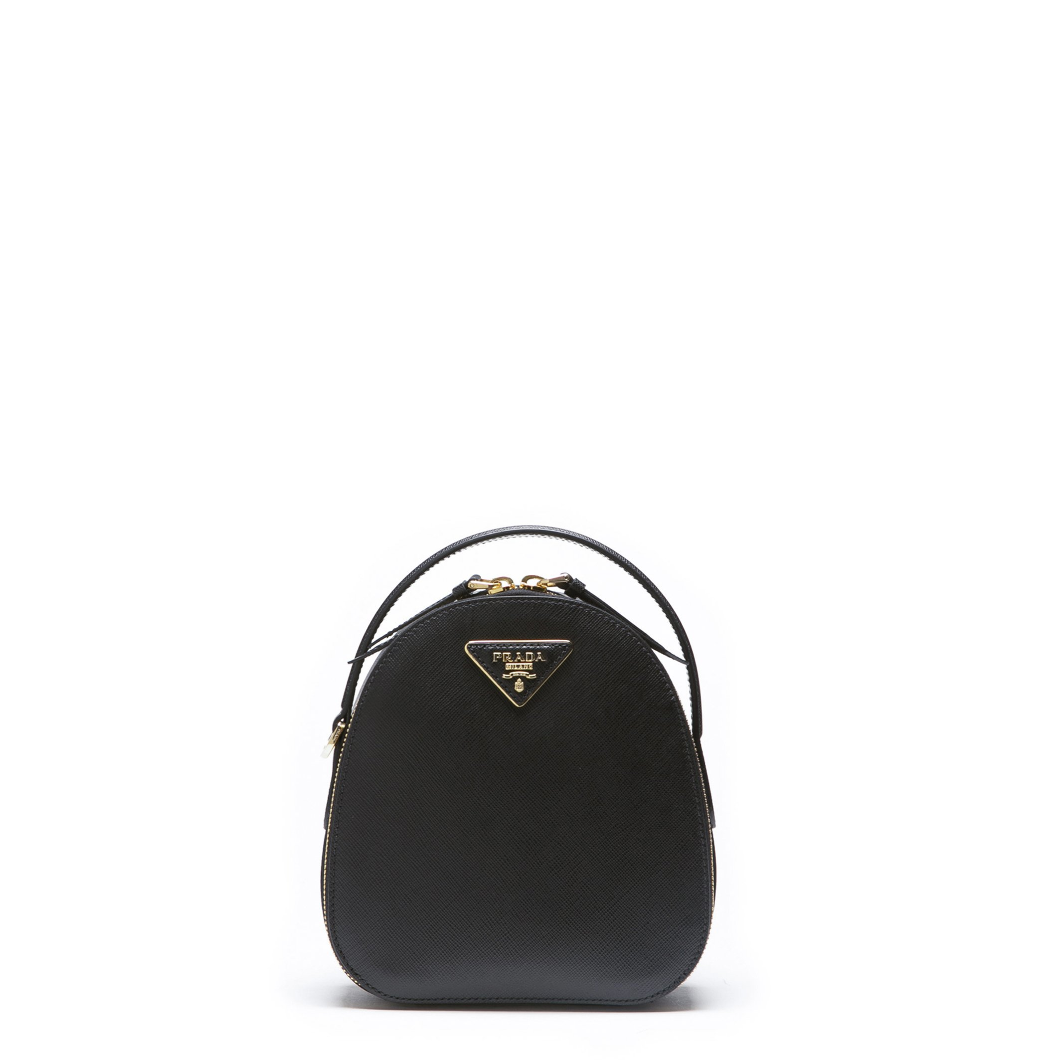 Prada Women's Backpack Various Colours 1BZ047_SAFFIANO - black NOSIZE