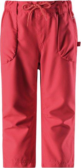 Reima Seahorse Pants, Bright Red 140