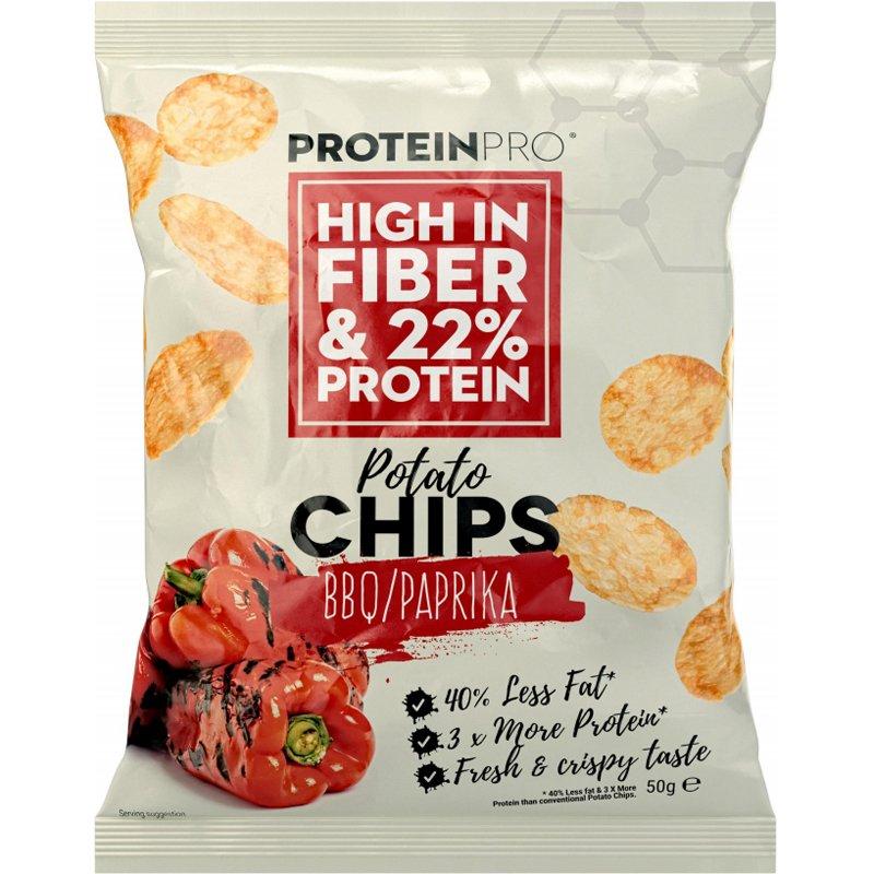 """Proteiinisipsit """"BBQ"""" - 80% alennus"""