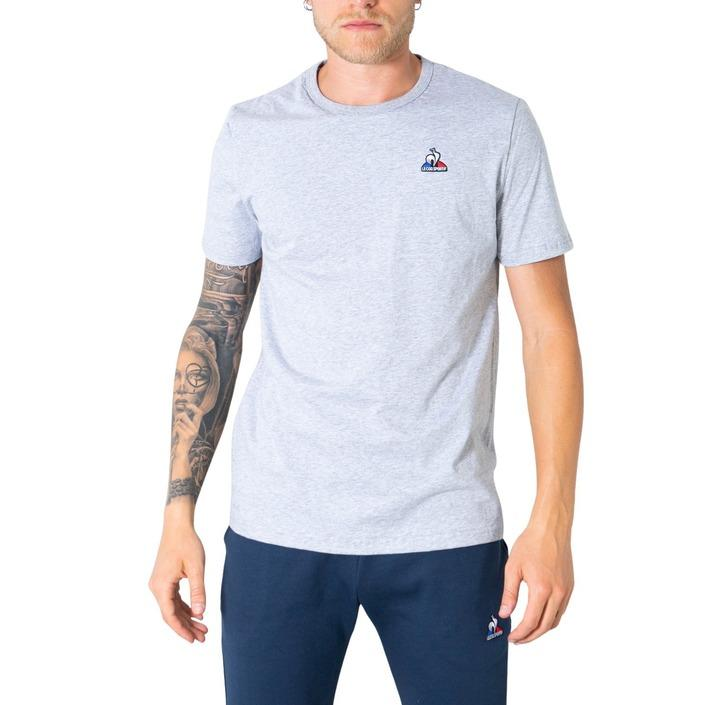 Le Coq Sportif Men's T-Shirt Grey 305793 - grey XL