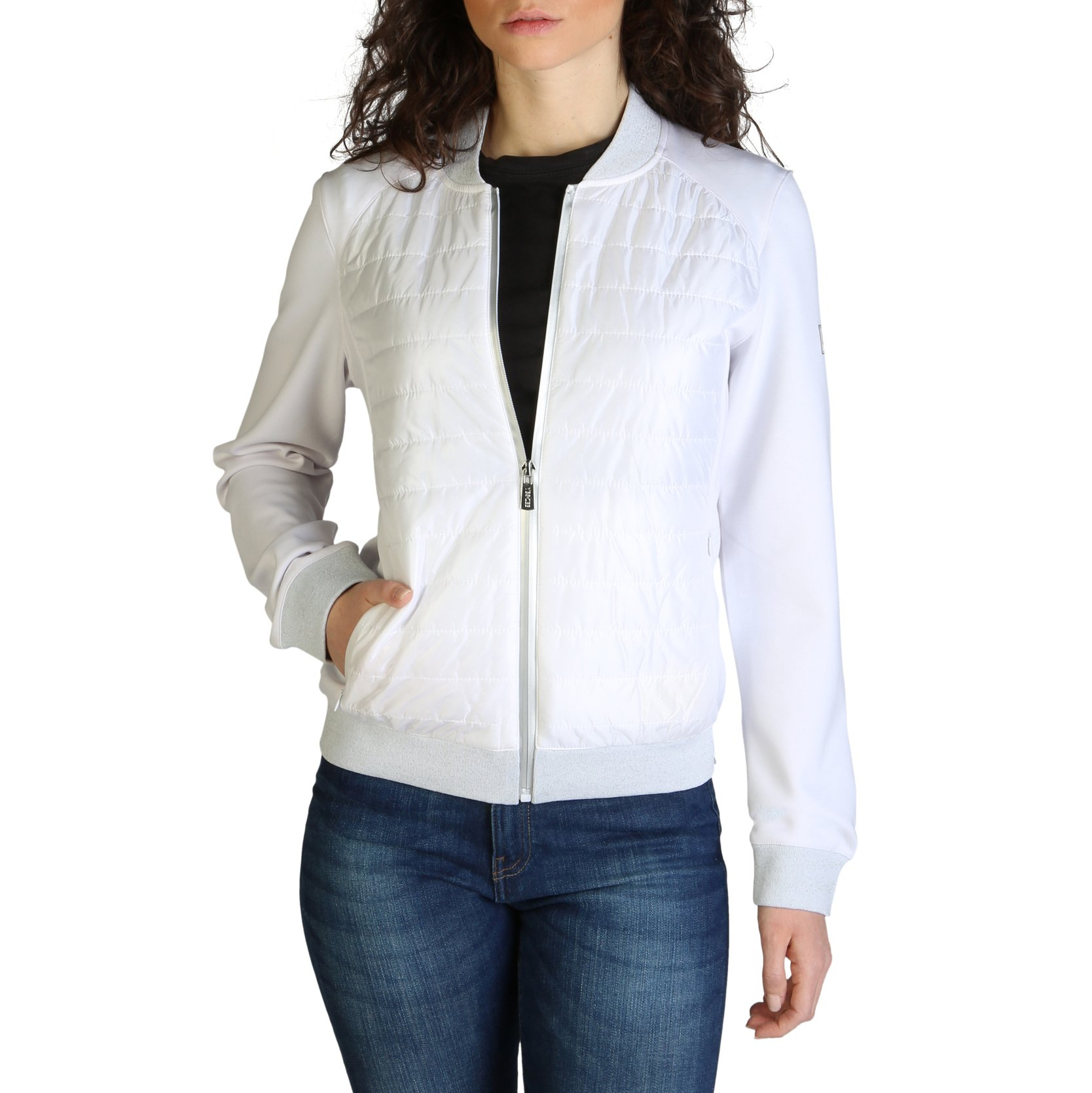 Yes Zee Women's Jacket Various Colours J434_AA00 - white XS