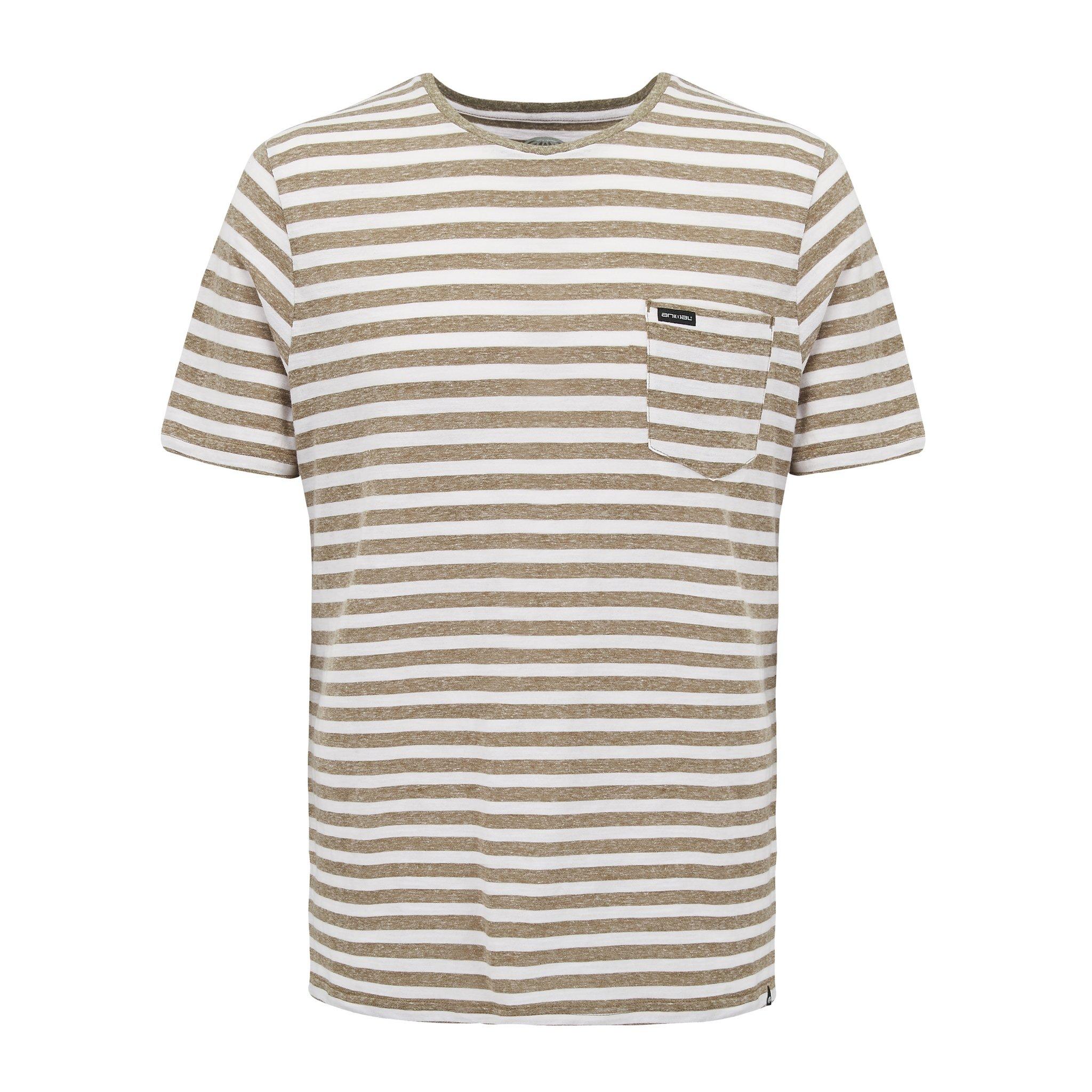 Animal Clothing Men's Pocket T-Shirt Grey - S Green